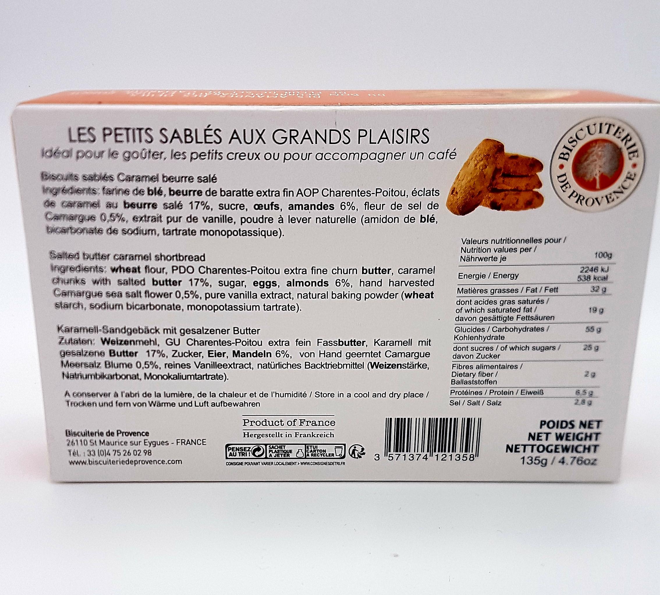 Les petits sablés aux grands plaisirs Caramel Beurre Salé   Mas des Jeux 612343a8ec6